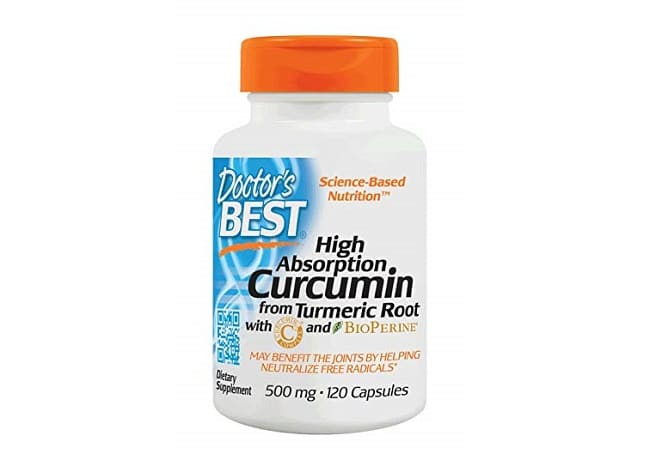 Doctor's Best Curcumin C3 Complex là Top 10 Loại thuốc bổ tốt nhất cho người già, người cao tuổi