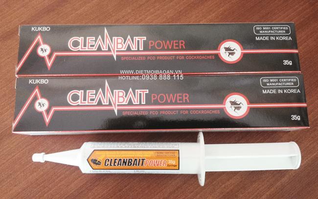Cleanbait Power là một trong Các loại thuốc diệt gián tốt nhất hiện nay