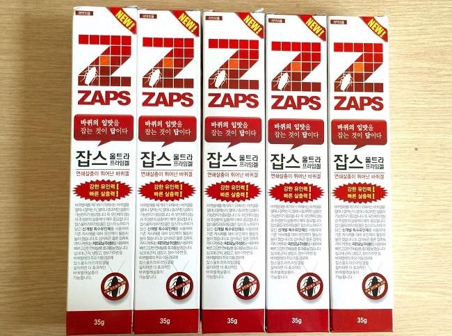 Zaps là một trong Các loại thuốc diệt gián tốt nhất hiện nay