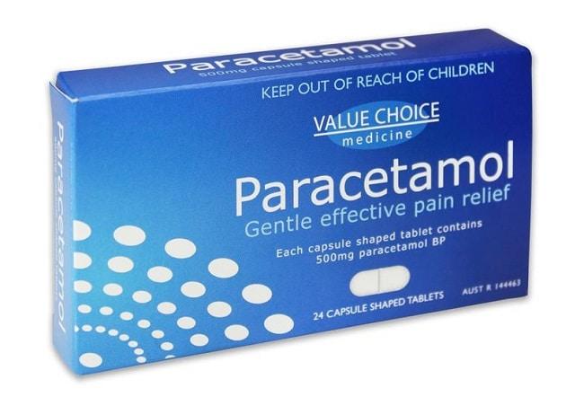 Paracetamol là Top 10 Loại thuốc hạ sốt dành cho người lớn thông dụng nhất