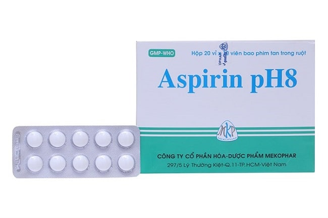 Aspirin là Top 10 Loại thuốc hạ sốt dành cho người lớn thông dụng nhất