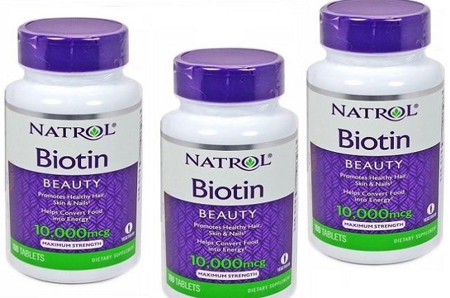 viên uống mọc tóc Biotin là Top 10 Loại thuốc mọc tóc tốt nhất