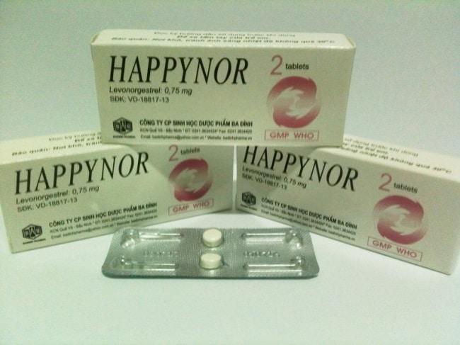 Happynor 0,75 mg là Top 10 Thuốc tránh thai an toàn và hiệu quả nhất cho phụ nữ