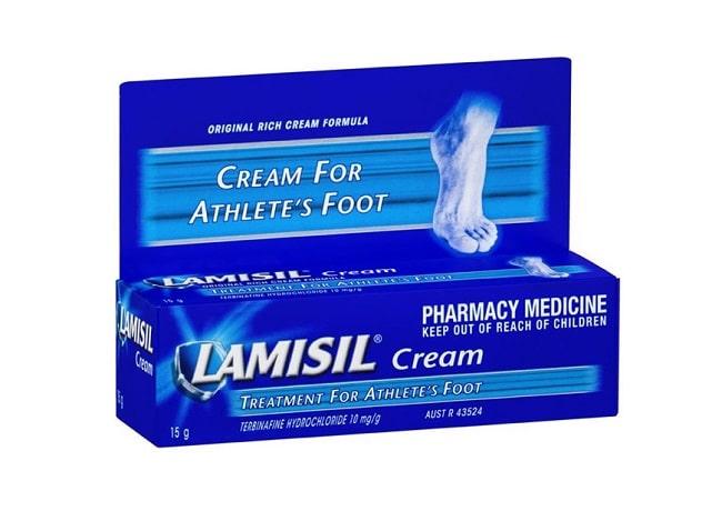 Lamisil là Top 13 Loại thuốc trị hắc lào tốt và hiệu quả nhất