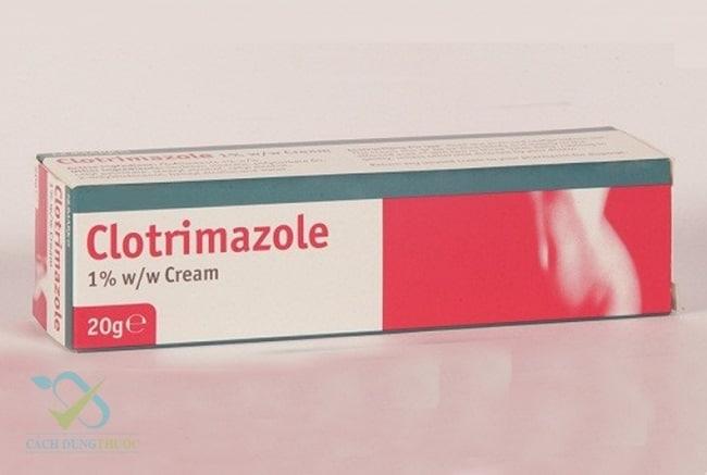 Clotrimazole là Top 13 Loại thuốc trị hắc lào tốt và hiệu quả nhất