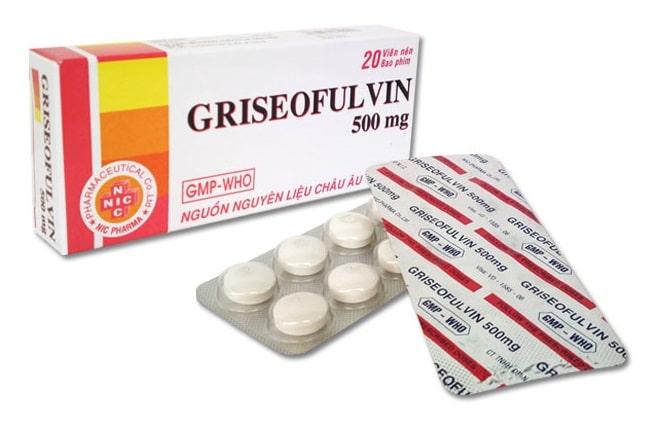 Griseofulvin là Top 13 Loại thuốc trị hắc lào tốt và hiệu quả nhất