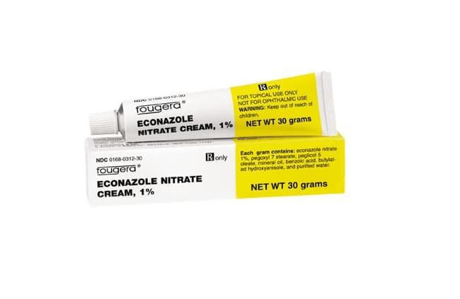 Econazole là Top 13 Loại thuốc trị hắc lào tốt và hiệu quả nhất