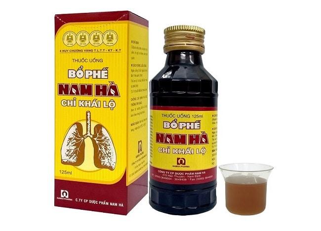 Siro ho Bổ phế Nam Hà là Top 10 Loại thuốc trị ho tốt nhất cho bé các bà mẹ nên dùng