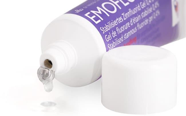 Emofluor là Top 10 Loại thuốc bôi nhiệt miệng hiệu quả nhất hiện nay