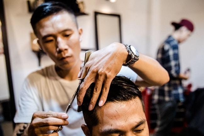 Hurricane Barber Shop Hair là Top 5 địa chỉ cắt tóc Undercut chất nhất ở TP.HCM