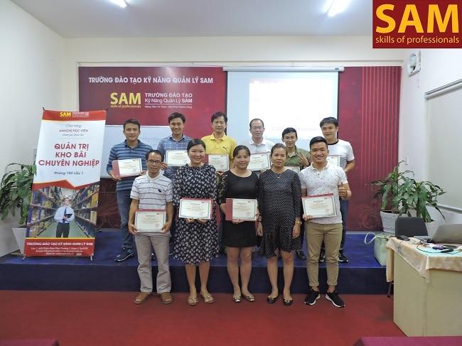 Trường đào tạo kỹ năng quản lý SAM là Top 5 Trung tâm đào tạo kỹ năng mềm tốt nhất TPHCM