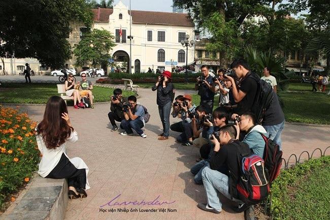 Học viện Lavender Việt Nam là Top 10 Trung tâm đào tạo nhiếp ảnh và quay phim tốt nhất TPHCM