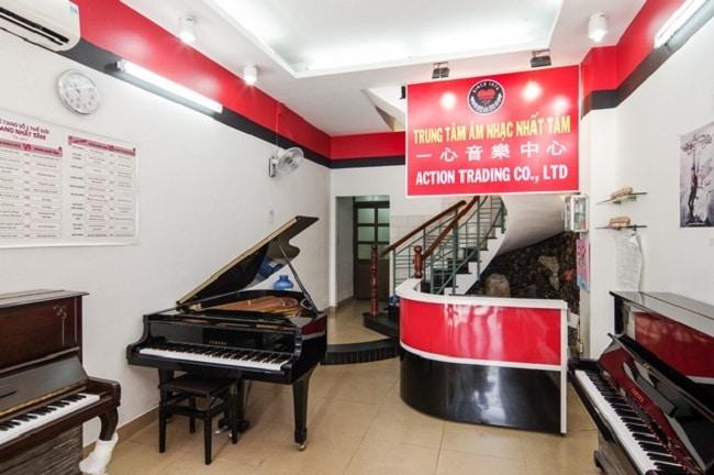 Trung tâm âm nhạc Nhất Tâm là Top Trung tâm dạy đàn piano tốt nhất tại TP. Hồ Chí Minh