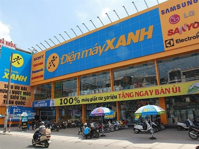 Điện Máy Xanh là Top 5 Trung tâm điện máy lớn nhất tại TPHCM