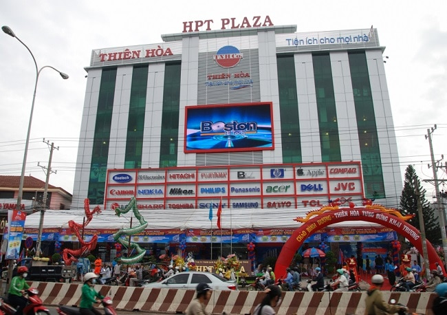 Thiên Hòa là Top 5 Trung tâm điện máy lớn nhất tại TPHCM