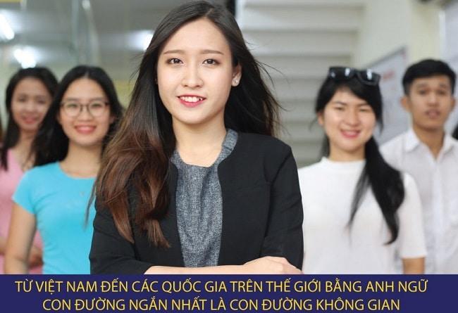 Ngoại ngữ Không Gian là Top 10 Trung tâm tiếng Anh tốt nhất Quận Tân Phú, TPHCM