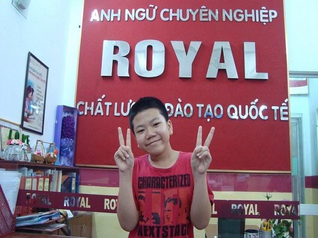 Anh ngữ Hoàng Gia là Top 10 Trung tâm tiếng Anh tốt nhất Quận Tân Phú, TPHCM