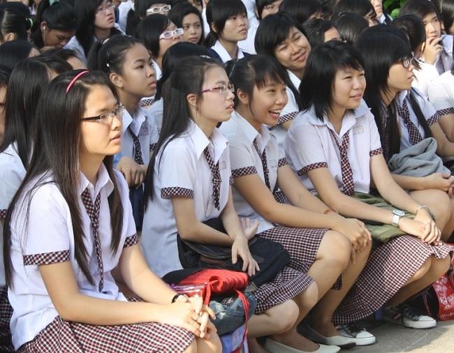 THPT Hoàng Hoa Thám là Top 5 Trường THPT có đồng phục học sinh đẹp nhất TPHCM