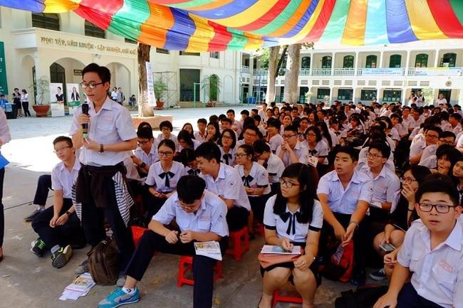 THPT Lê Quý Đôn là Top 5 Trường THPT có đồng phục học sinh đẹp nhất TPHCM