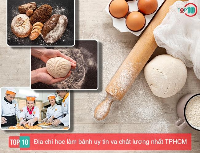 Địa chỉ học làm bánh tại TPHCM