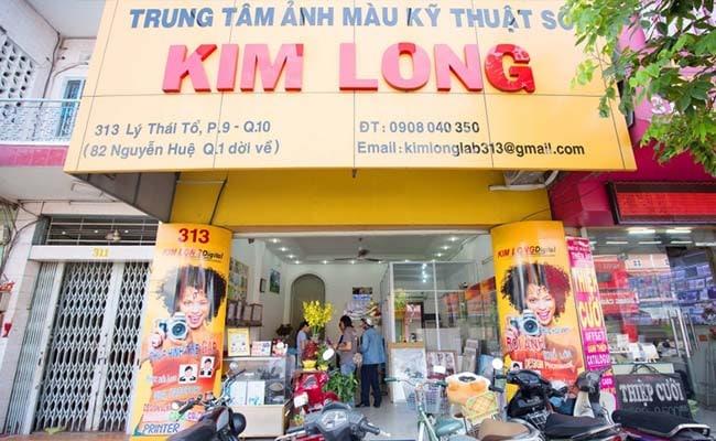 tiệm chụp ảnh thẻ lấy ngay đẹp nhất TPHCM KTS Kim Long