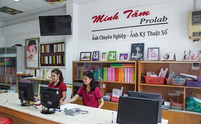 tiệm chụp ảnh thẻ lấy ngay đẹp nhất TPHCM Minh Tam