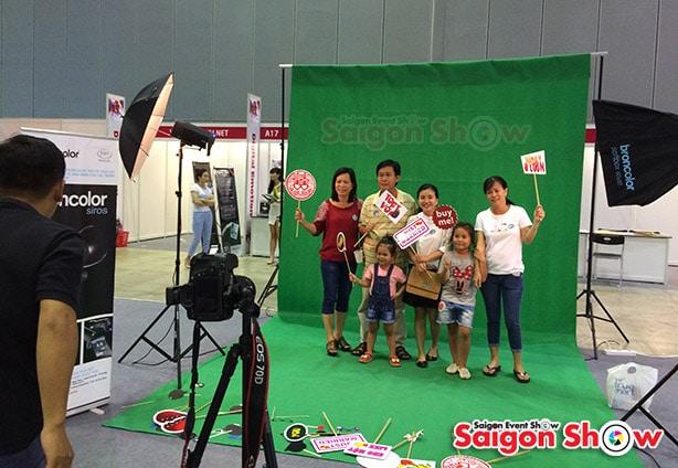 tiệm chụp ảnh thẻ lấy ngay đẹp nhất TPHCM Studio Saigon Show