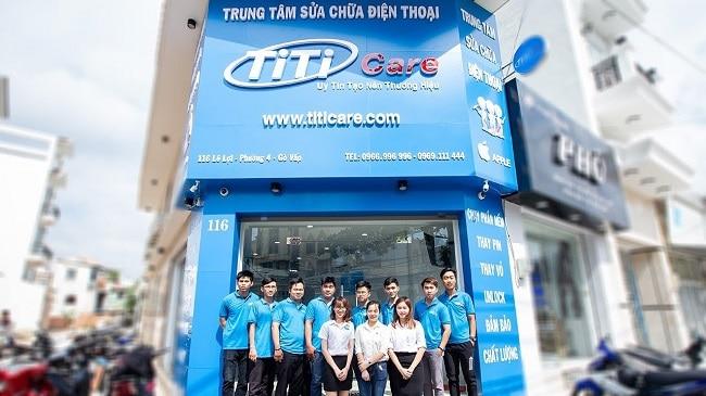 trung tâm sửa chữa điện thoại tốt nhất ở TPHCM Titi care