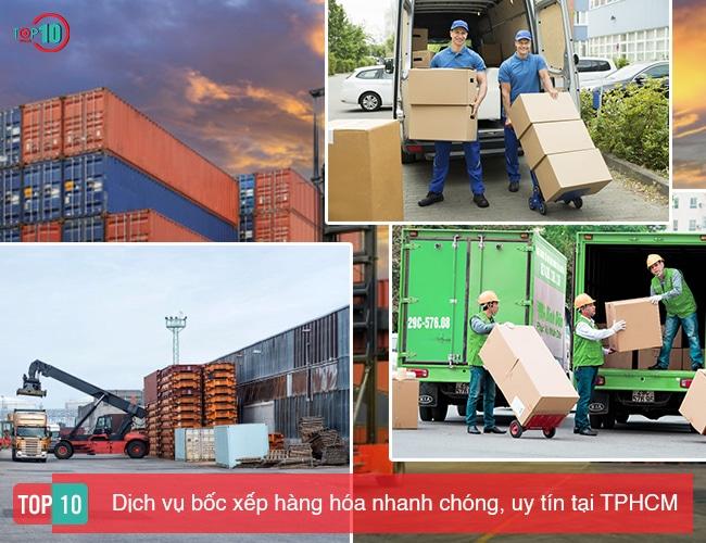 Top 10 Dịch vụ bốc xếp hàng hóa nhanh chóng và uy tín nhất tại TPHCM
