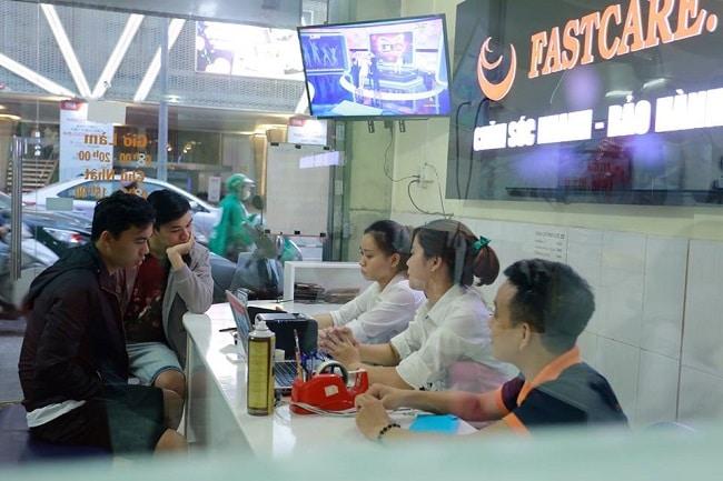 trung tâm sửa chữa điện thoại tốt nhất ở TPHCM dien thoai Fastcare