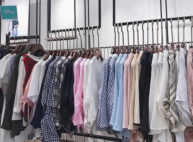 Shop quần áo sơ mi nữ trắng TPHCM