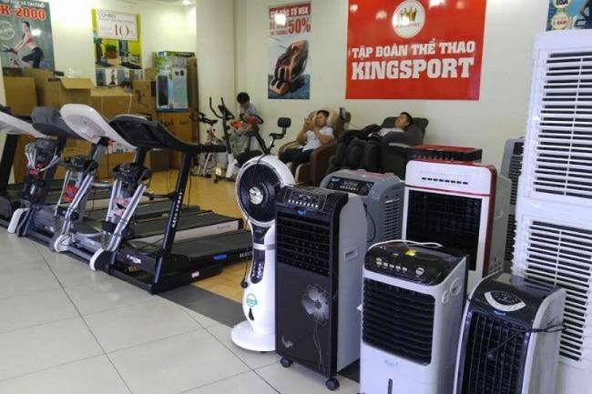 KingSport là Top 10 Cửa hàng bán dụng cụ thể thao uy tín nhất tại TPHCM