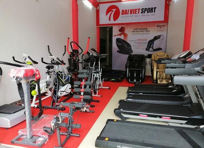 Đại Việt Sport là Top 10 Cửa hàng bán dụng cụ thể thao uy tín nhất tại TPHCM
