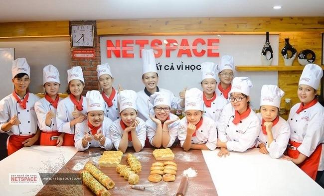 NetSpace là Top 5 địa chỉ học làm bánh uy tín và chất lượng nhất tại TPHCM