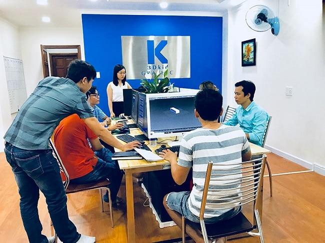 3DKID là Top 5 địa chỉ học thiết kế nội thất uy tín ở TPHCM