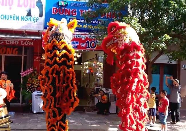 công ty Rạng Danh Việt là Top 5 Dịch vụ lân sư rồng khai trương tốt nhất tại TPHCM