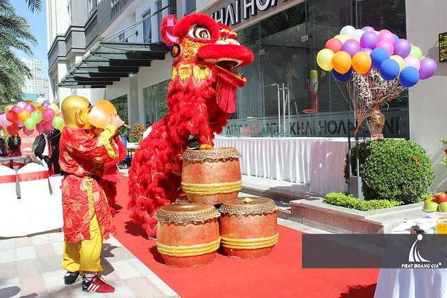 công ty sự kiện Phát Hoàng Gia là Top 5 Dịch vụ lân sư rồng khai trương tốt nhất tại TPHCM