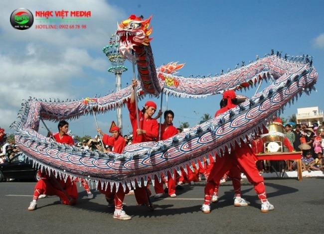 Nhạc Việt Media là Top 5 Dịch vụ lân sư rồng khai trương tốt nhất tại TPHCM