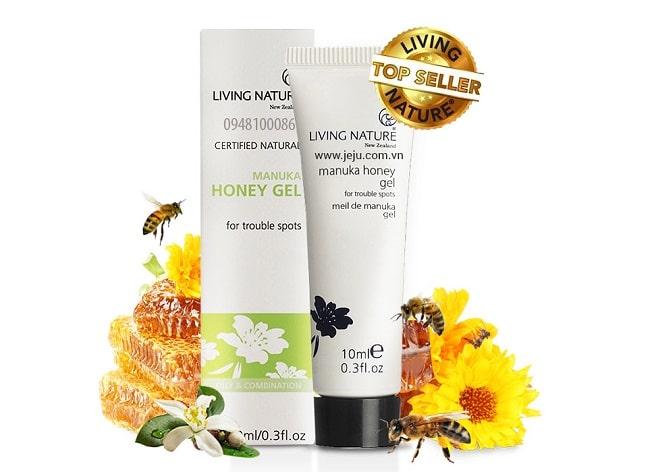 Kem trị mụn Living Nature Manuka Honey Gel là TOP 10 Kem trị mụn tốt được nhiều người sử dụng nhất hiện nay