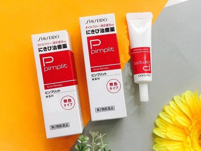 Kem trị mụn Shiseido Pimplit là TOP 10 Kem trị mụn tốt được nhiều người sử dụng nhất hiện nay