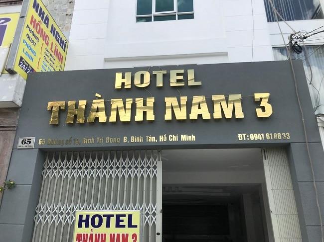 """Khách sạn Thành Nam 3 là Top 10 Khách sạn giá """"rẻ mà tốt"""" nhất Quận Bình Tân"""