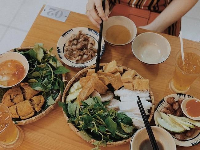 Bún đậu Cô Khàn là Top 20 Quán ăn ngon ở quận 1, TPHCM bạn nên đến nhất