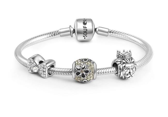 Soufeel là Top 6 Thương hiệu vòng charm (vòng Pandora) trang sức đẹp nhất