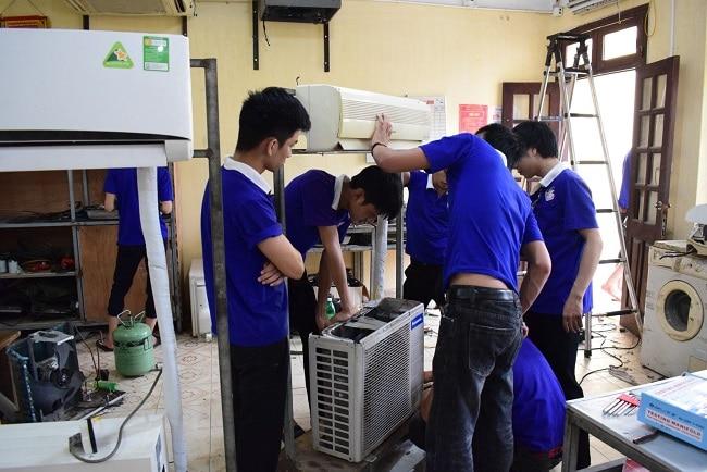 Trung tâm dạy nghề quận Tân Bình là Top 5 Trung tâm dạy nghề sửa chữa điện lạnh uy tín nhất TPHCM