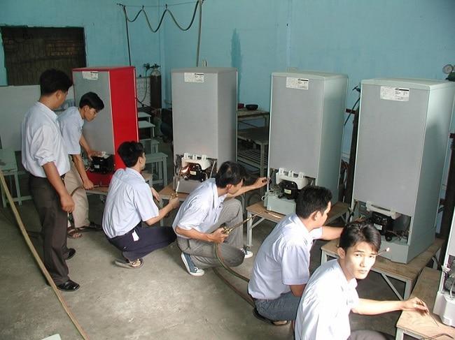 Trung tâm đào tạo kỹ thuật HP là Top 5 Trung tâm dạy nghề sửa chữa điện lạnh uy tín nhất TPHCM