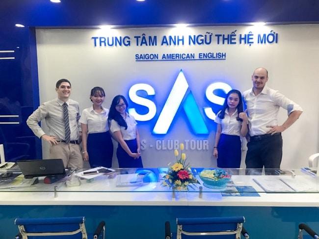 Saigon American English là Top 5 Trung tâm dạy tiếng anh tốt nhất ở quận Thủ Đức, TPHCM