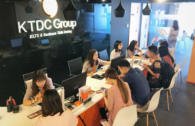 KTDC là Top 10 trung tâm ngoại ngữ uy tín nhất tại TPHCM