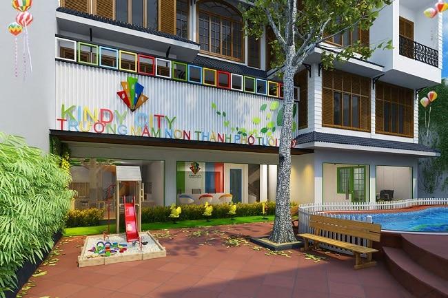 Kindy International City là Top 10 Trường mầm non quốc tế tốt nhất TPHCM