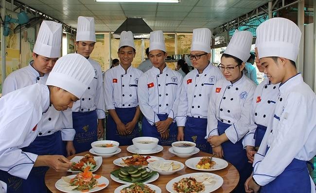 Trường dạy học nấu ăn uy tín, chuyên nghiệp