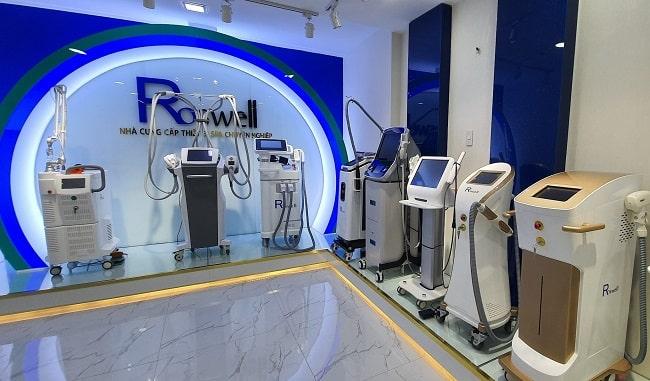 Công ty thiết bị mỹ phẩm Roswell